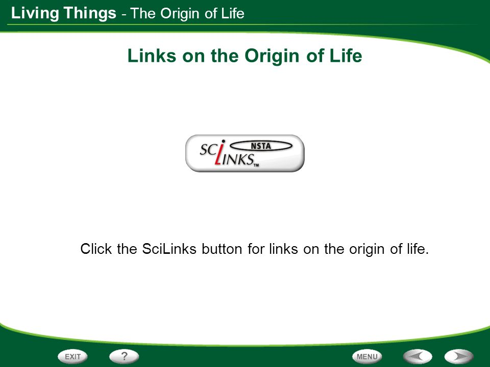 Links on the Origin of Life
