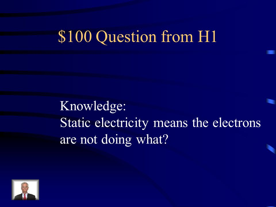 $100 Question from H1 Knowledge: