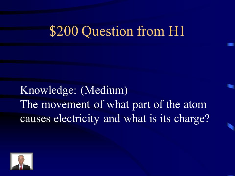 $200 Question from H1 Knowledge: (Medium)