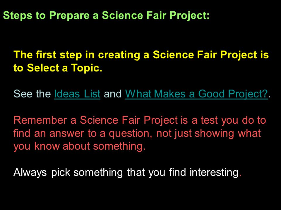 steps to a science project Fingerprint science project for kids updated on february  there are plenty of easy-to-do science project kids can do at home  as well as step-by-step.