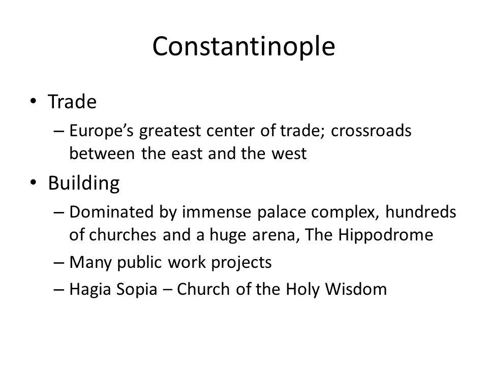 Constantinople Trade Building