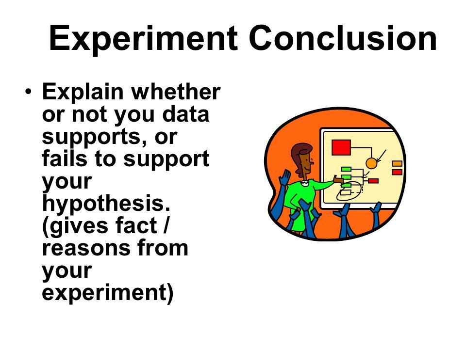 Experiment Conclusion