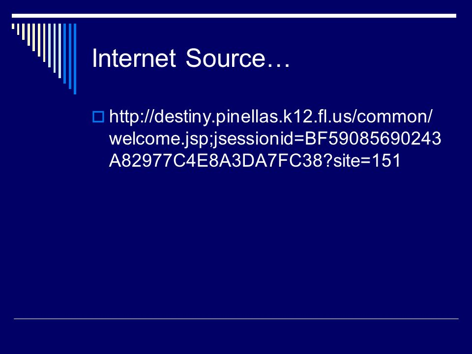 Internet Source…   site=151.