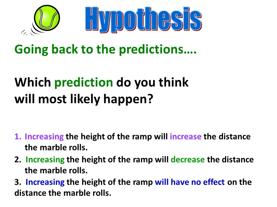 Going back to the predictions…. Which prediction do you think