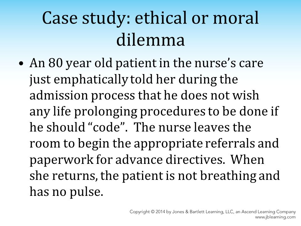 ethics case study should nuclear In ethics, an expansive area of study that  nuclear medicine technology  (the actions we should take) and the ethics of character.