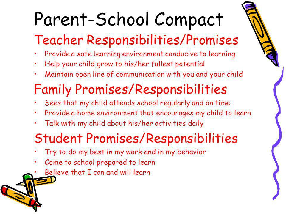 Parent-School Compact