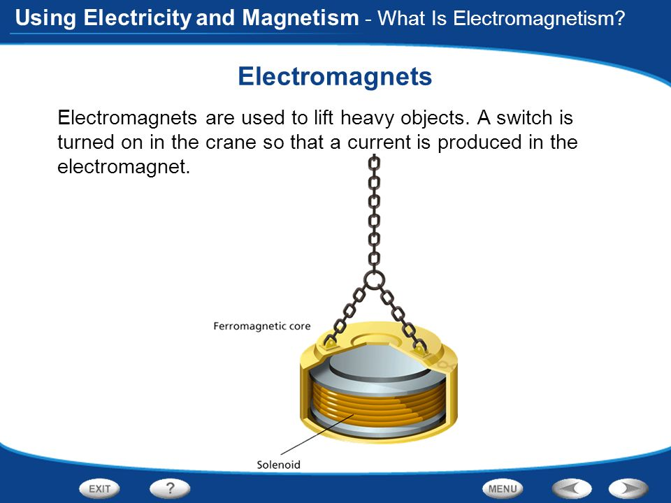 Electromagnets - What Is Electromagnetism