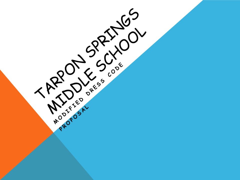Tarpon Springs middle School