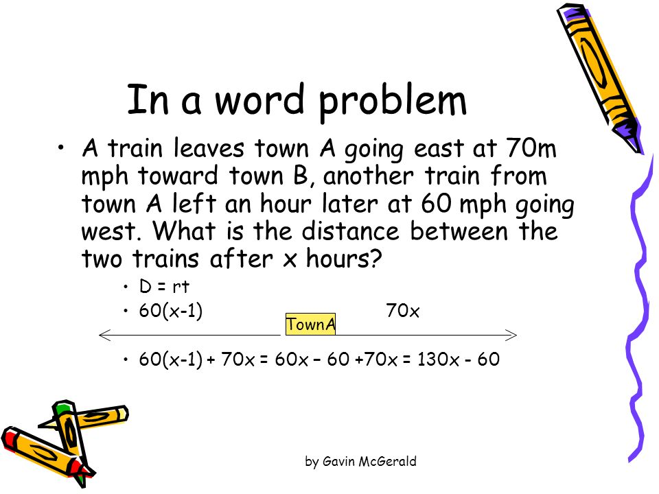 In a word problem
