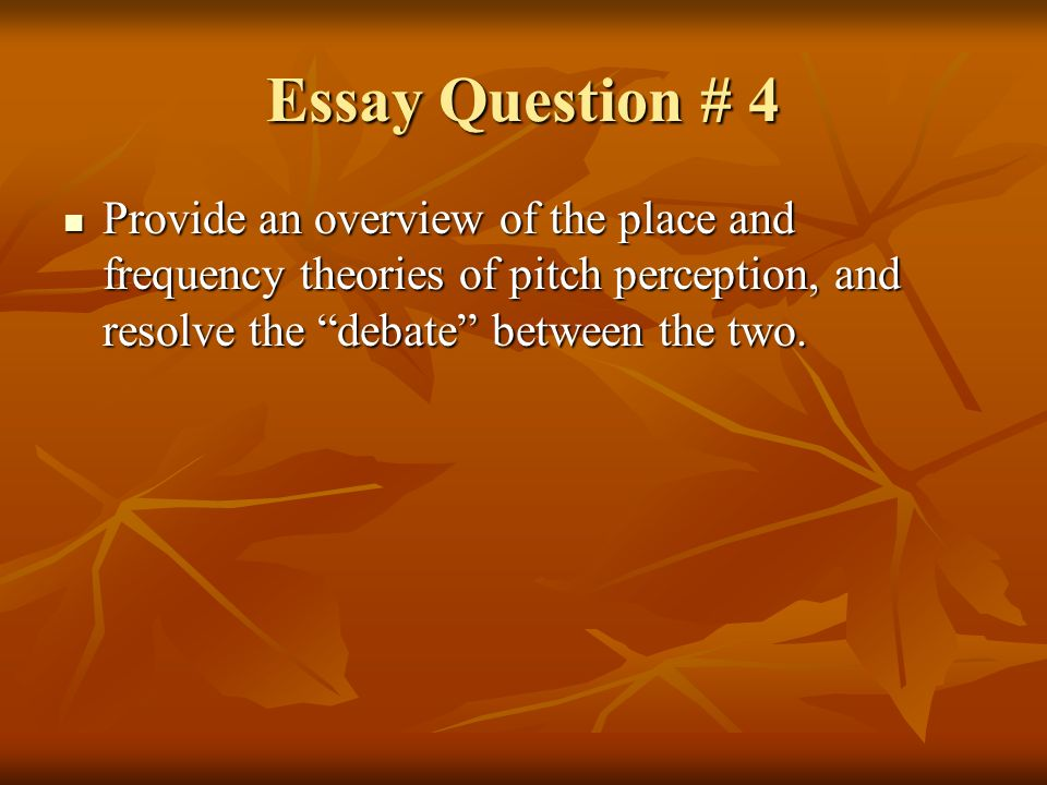 sensation and perception ppt video online  22 essay