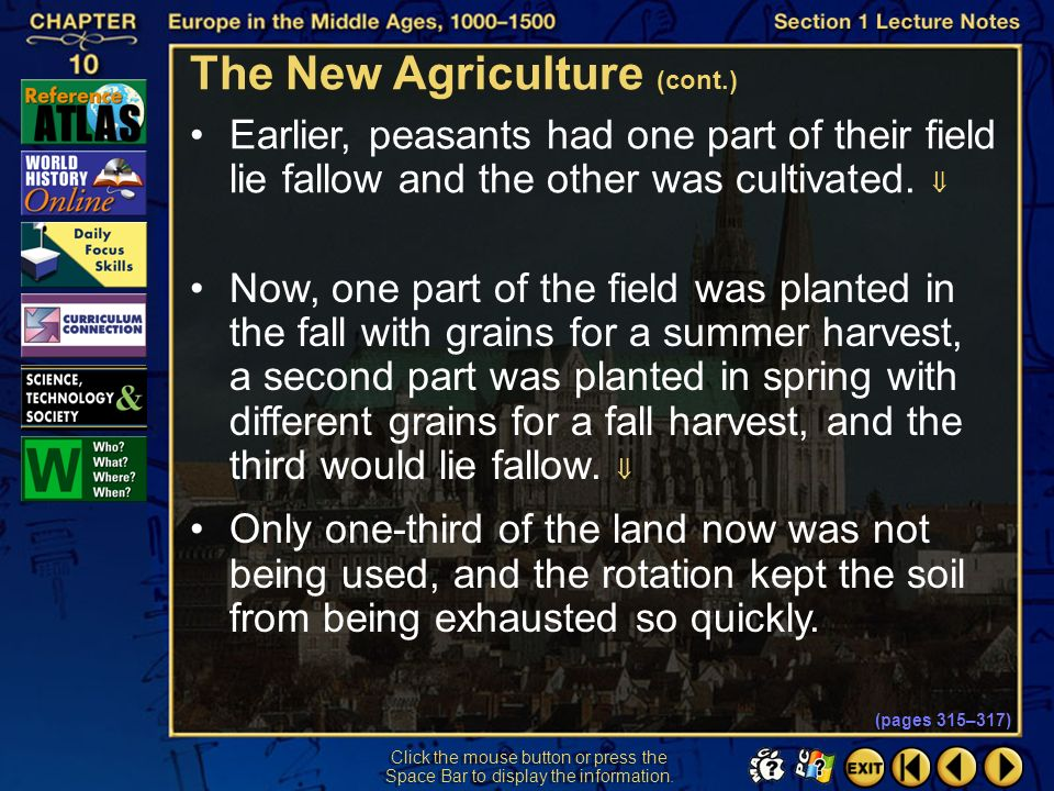 The New Agriculture (cont.)