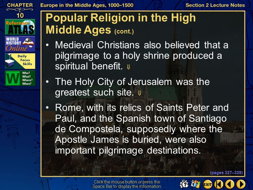 Popular Religion in the High Middle Ages (cont.)