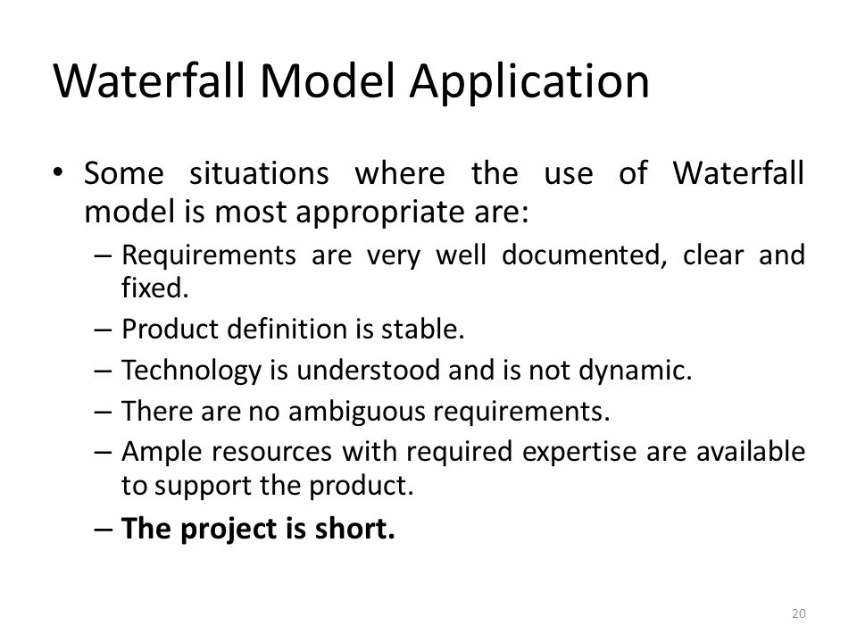 Unit iii software design testing methods ppt download for Waterfall methodology definition
