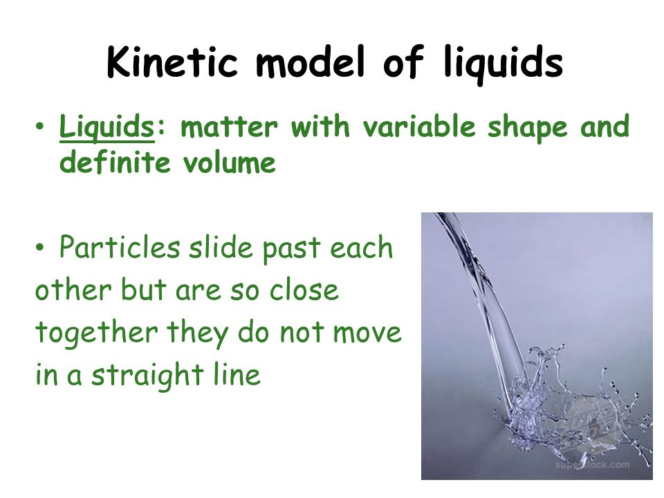 Kinetic model of liquids