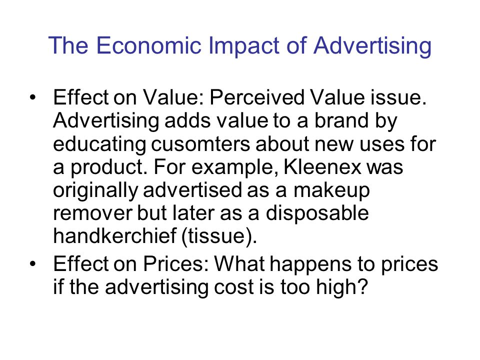 Economic and social aspects of marketing