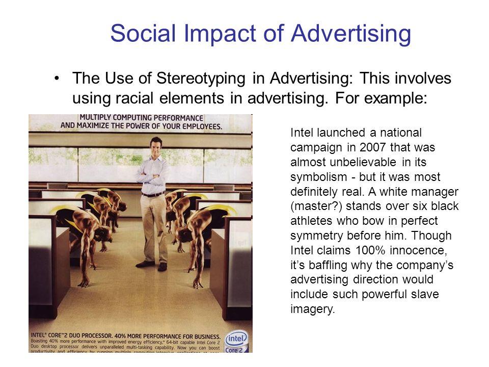 social economic impacts of advertising