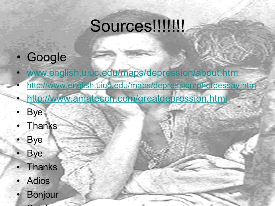 Sources!!!!!!! Google