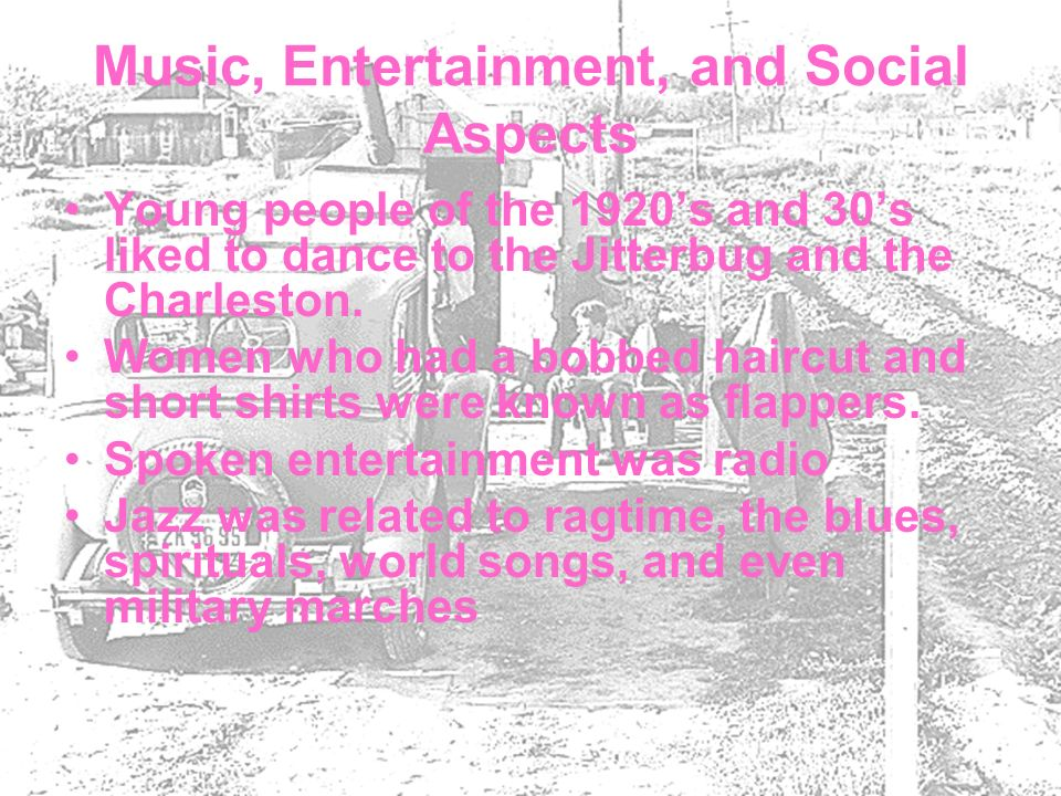 Music, Entertainment, and Social Aspects