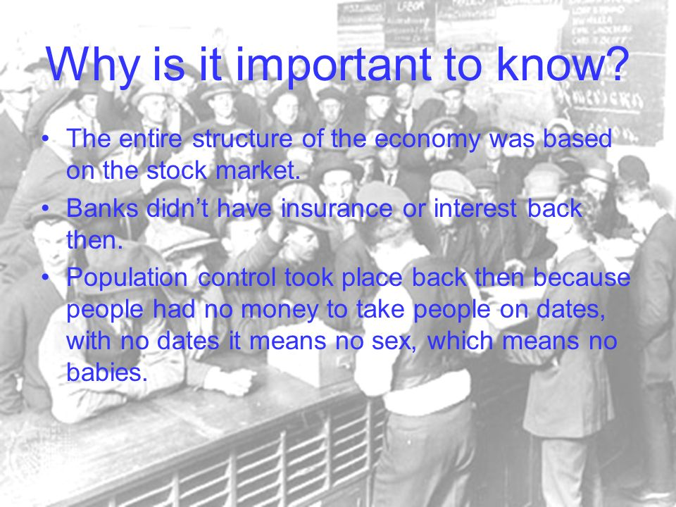 Why is it important to know