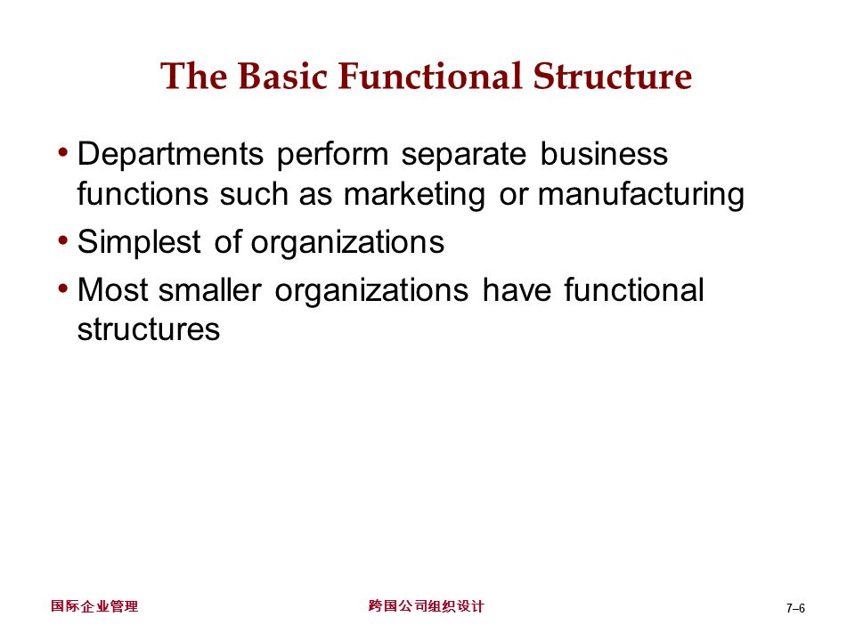organizational structure of the multinational companies This paper is concerned with an analysis of similarities and differences in the organization structure of multinational corporations based in the united states and four european countries.