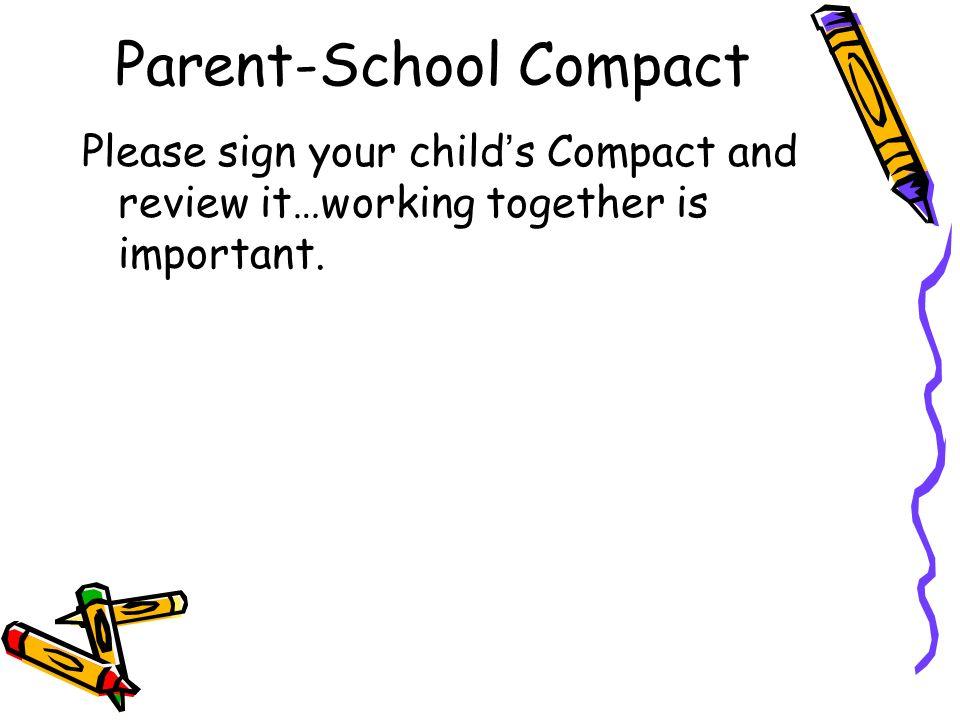 Parent-School Compact
