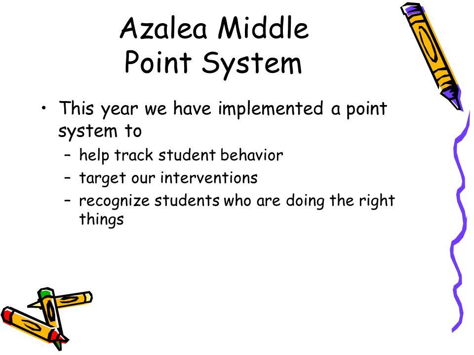 Azalea Middle Point System