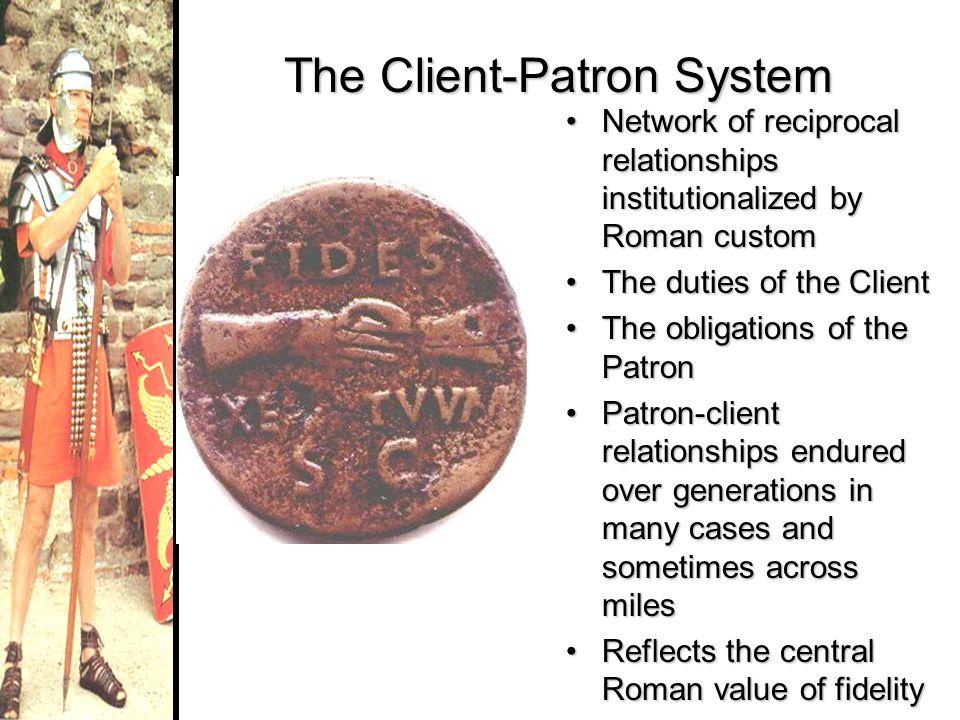 The Client-Patron System