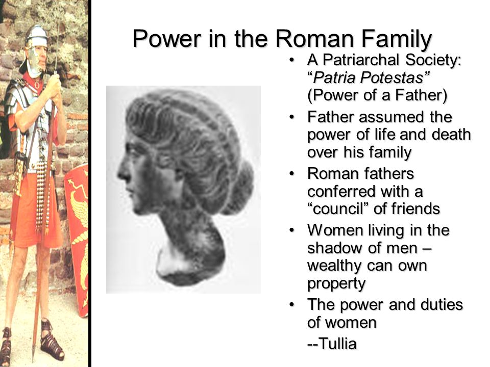 Power in the Roman Family