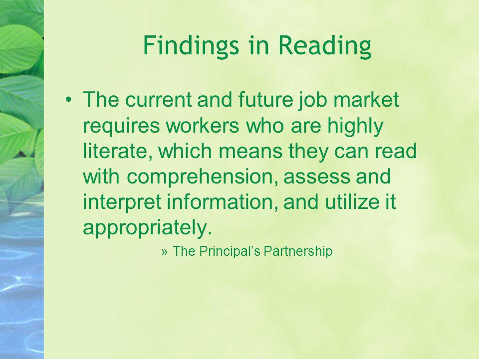 Findings in Reading