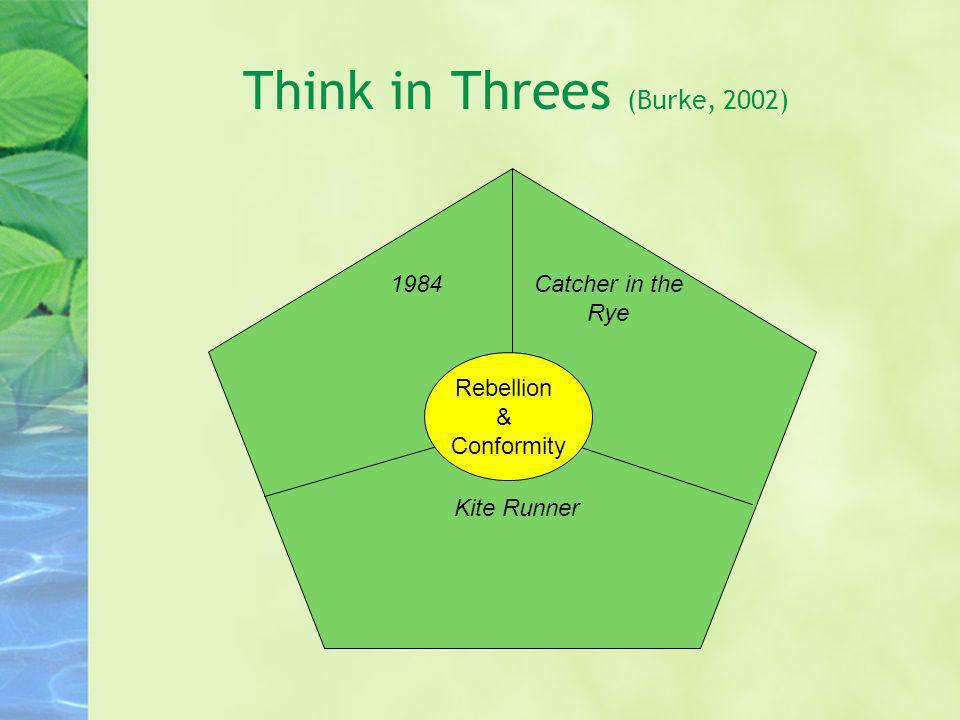 Think in Threes (Burke, 2002)