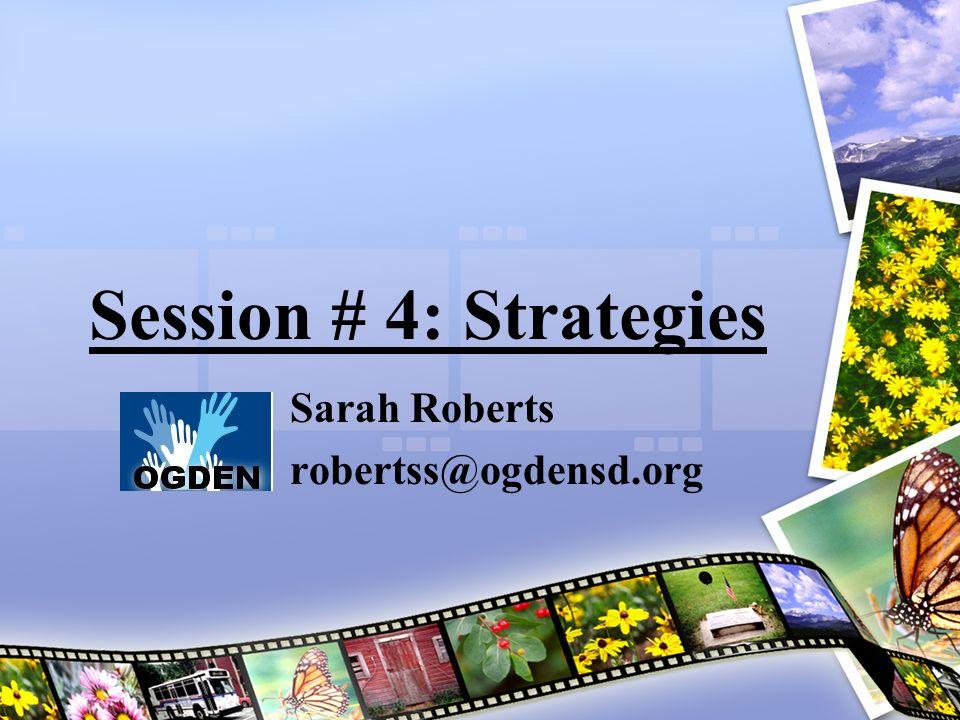 Sarah Roberts robertss@ogdensd.org