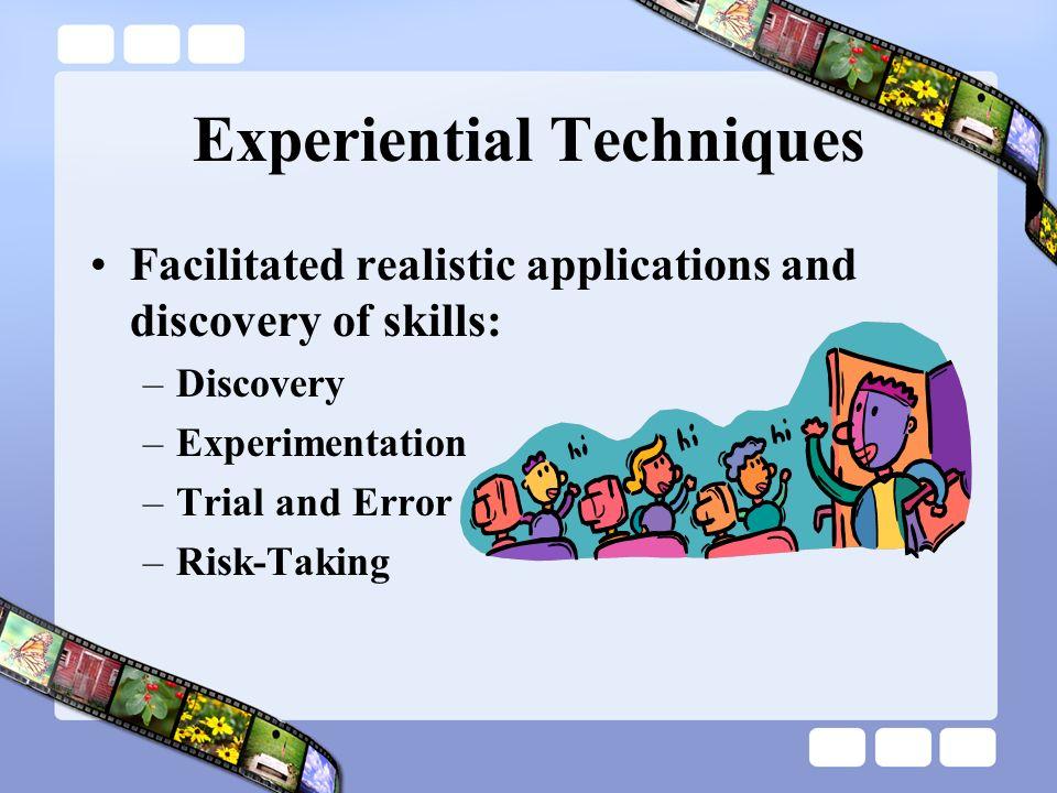 Experiential Techniques