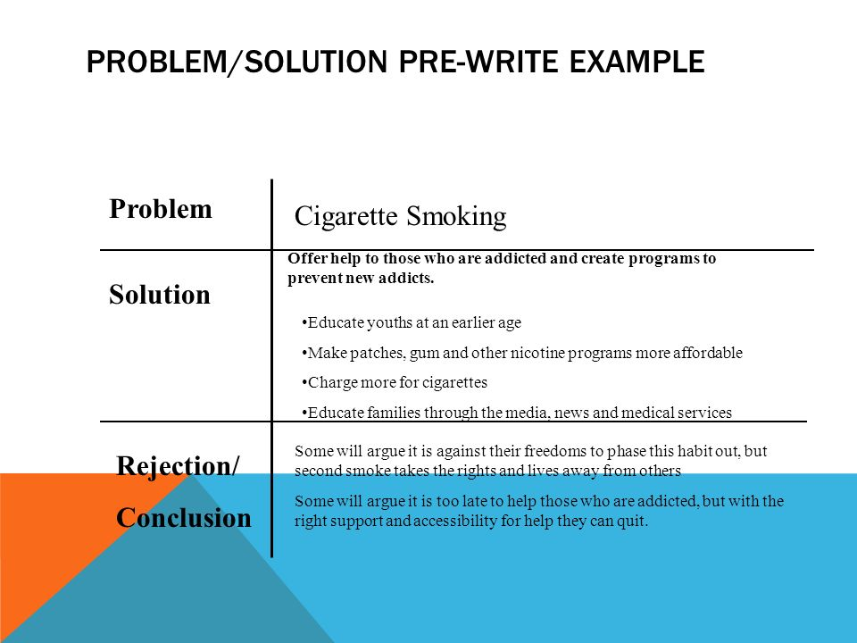 a guide to problem and solution essays ppt video online  5 problem solution