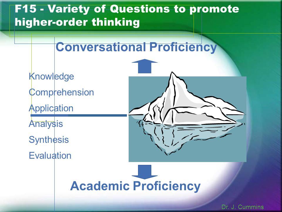 Conversational Proficiency