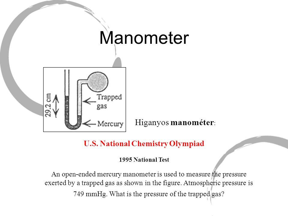 U.S. National Chemistry Olympiad