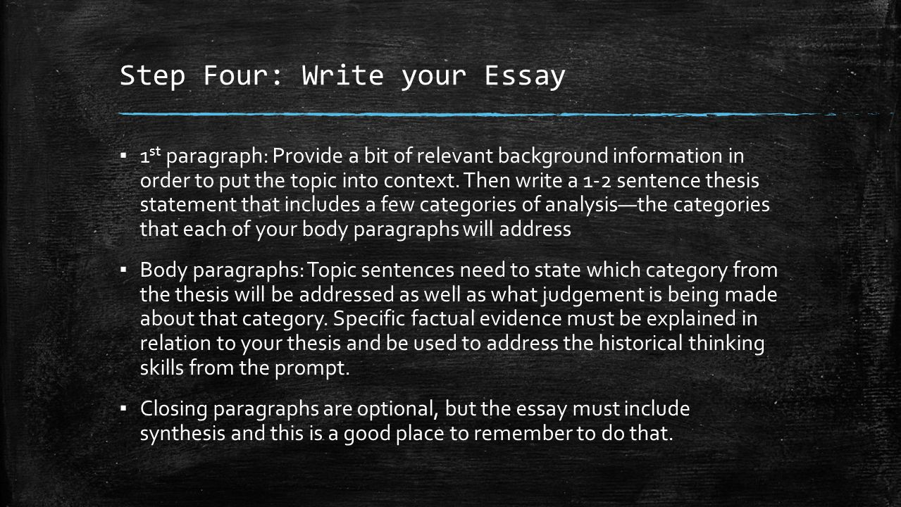 do essays need 3 body paragraphs Paragraph 3: body 2 paragraph  in this way we can see that the basic  introduction does not need to be much more than three or four sentences in  length  here is an example of a body paragraph to continue the essay begun  above: take.