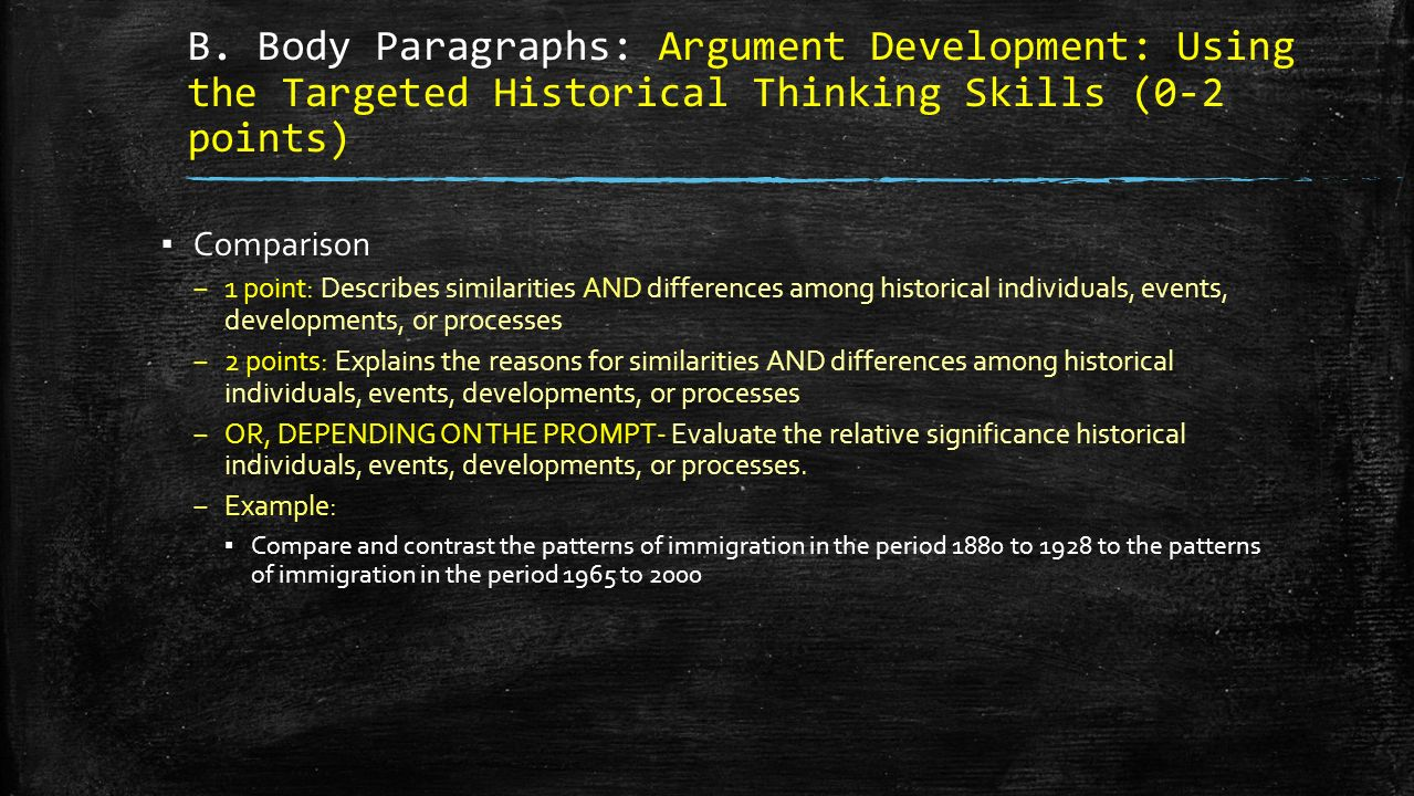 compare and contrast the historical significance essay Religion, anthropology, and ap world history compare & contrast essay topics religion is often a taboo topic to discuss public schools and colleges have subjects dedicated to religion  compare and contrast essay topics for high school students  the significance of each type of construction.