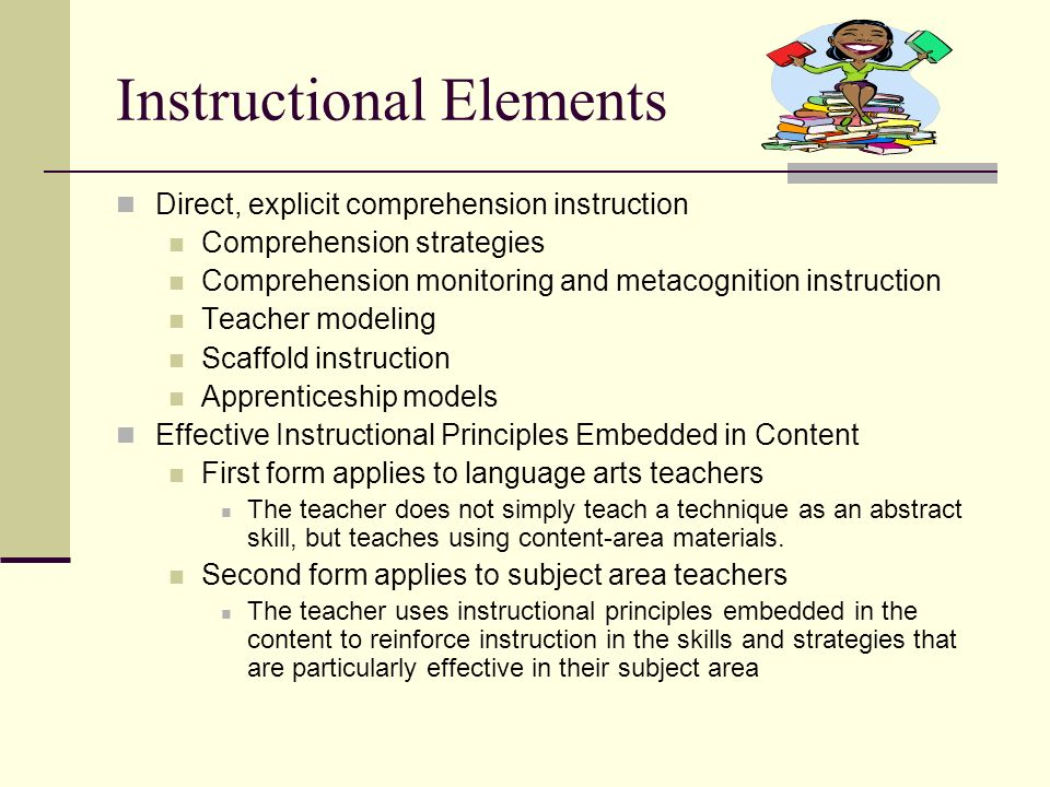 Instructional Elements
