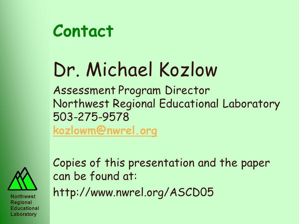 Dr. Michael Kozlow Contact