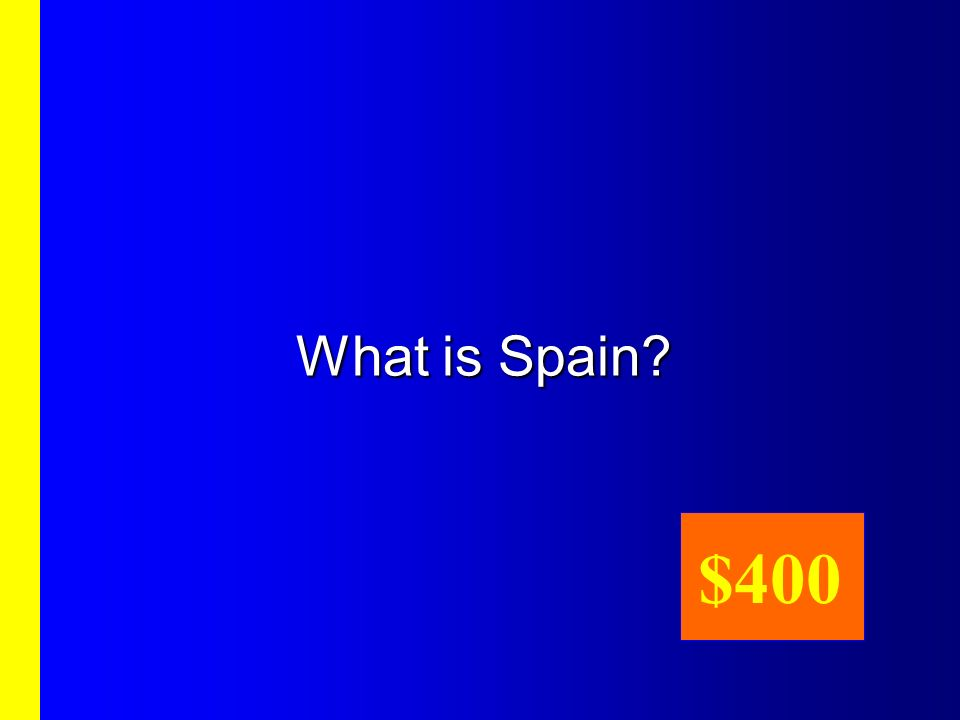 What is Spain $400