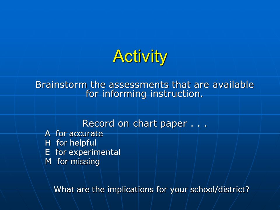 What are the implications for your school/district