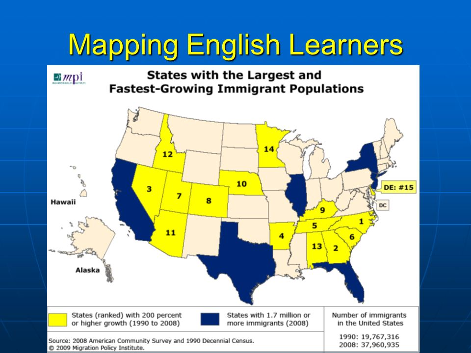 Mapping English Learners