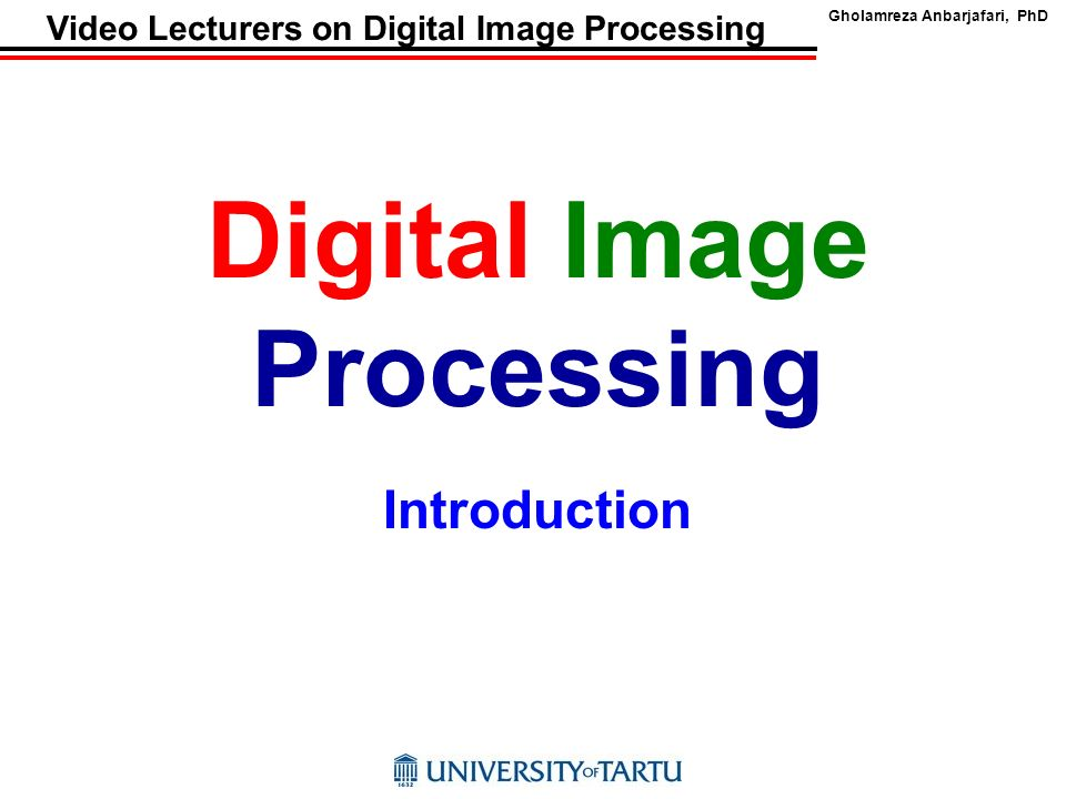 image processing and enhancement Technical report image processing and enhancement provided by commercial dental software programs tm lehmann,1, e troeltsch1 and k spitzer1 1institute of medical informatics, aachen university of technology, aachen, germany.