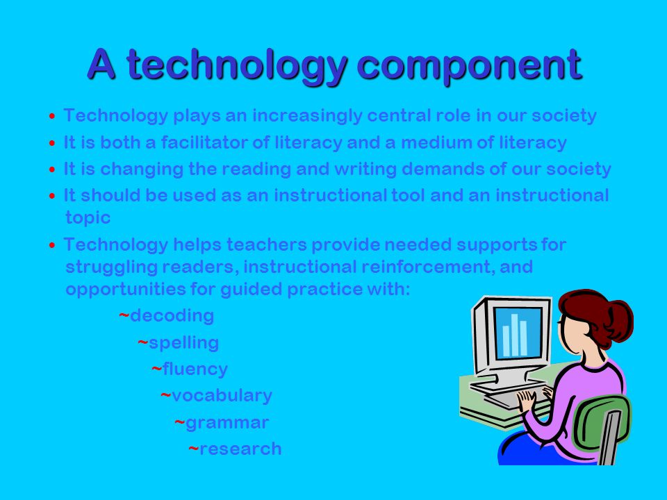 A technology component