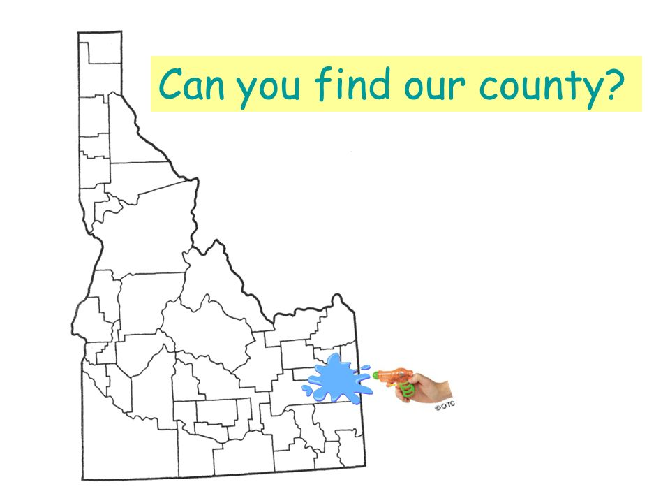 Can you find our county