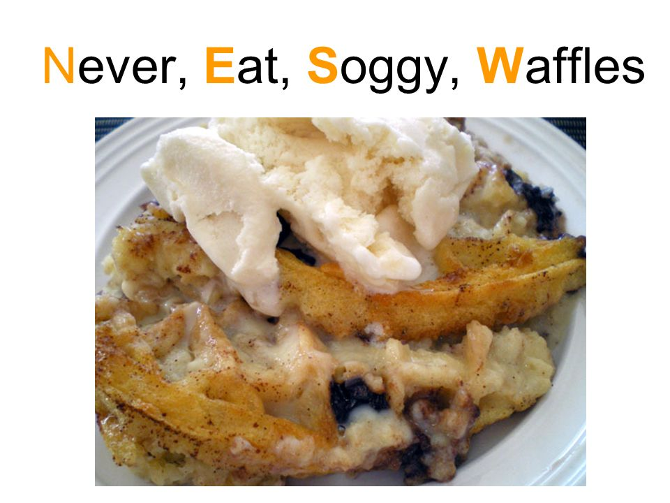Never, Eat, Soggy, Waffles