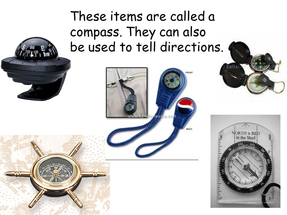 These items are called a compass