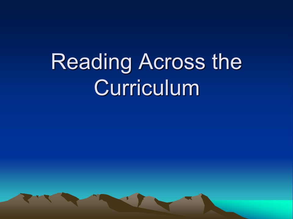 An Introduction to Writing Across the Curriculum
