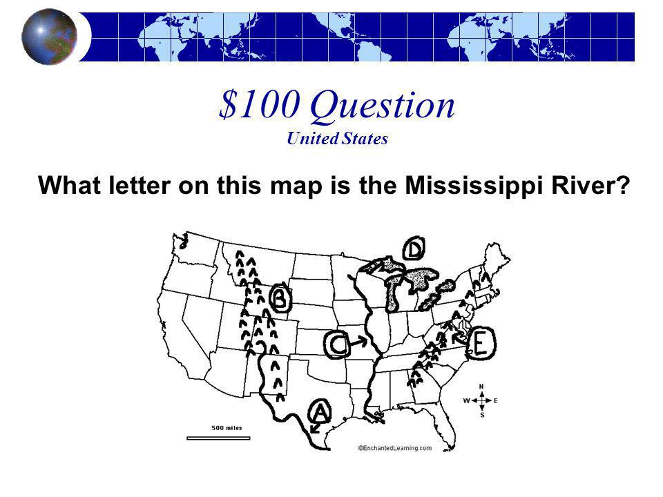 $100 Question United States