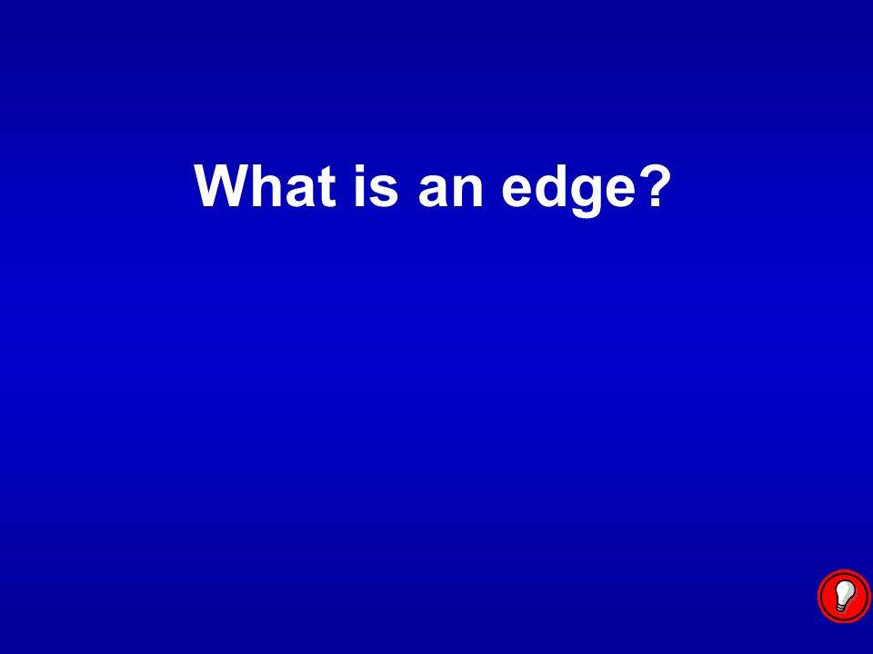 What is an edge
